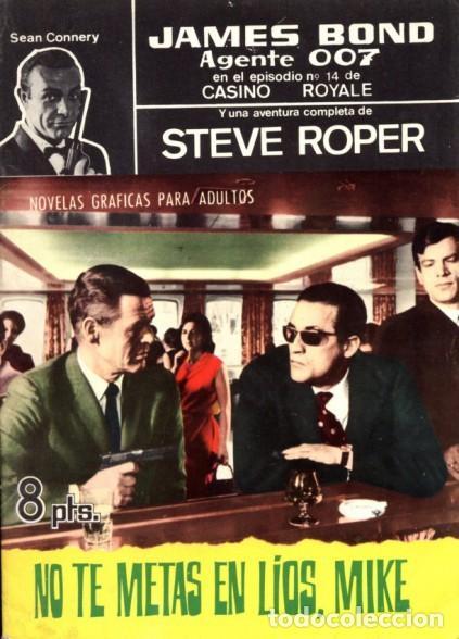 AGENTE 007 JAMES BOND- Nº 31 -NO TE METAS EN LÍOS, MIKE-1966-THOMAS OVERGARD-BUENO-DIFÍCIL-5089 (Tebeos y Comics - Ferma - Agente Secreto)