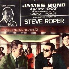 Tebeos: AGENTE 007 JAMES BOND- Nº 31 -NO TE METAS EN LÍOS, MIKE-1966-THOMAS OVERGARD-BUENO-DIFÍCIL-5089. Lote 274338928