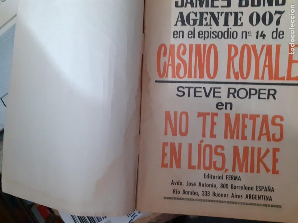 Tebeos: AGENTE 007 JAMES BOND- Nº 31 -NO TE METAS EN LÍOS, MIKE-1966-THOMAS OVERGARD-BUENO-DIFÍCIL-5089 - Foto 3 - 274338928