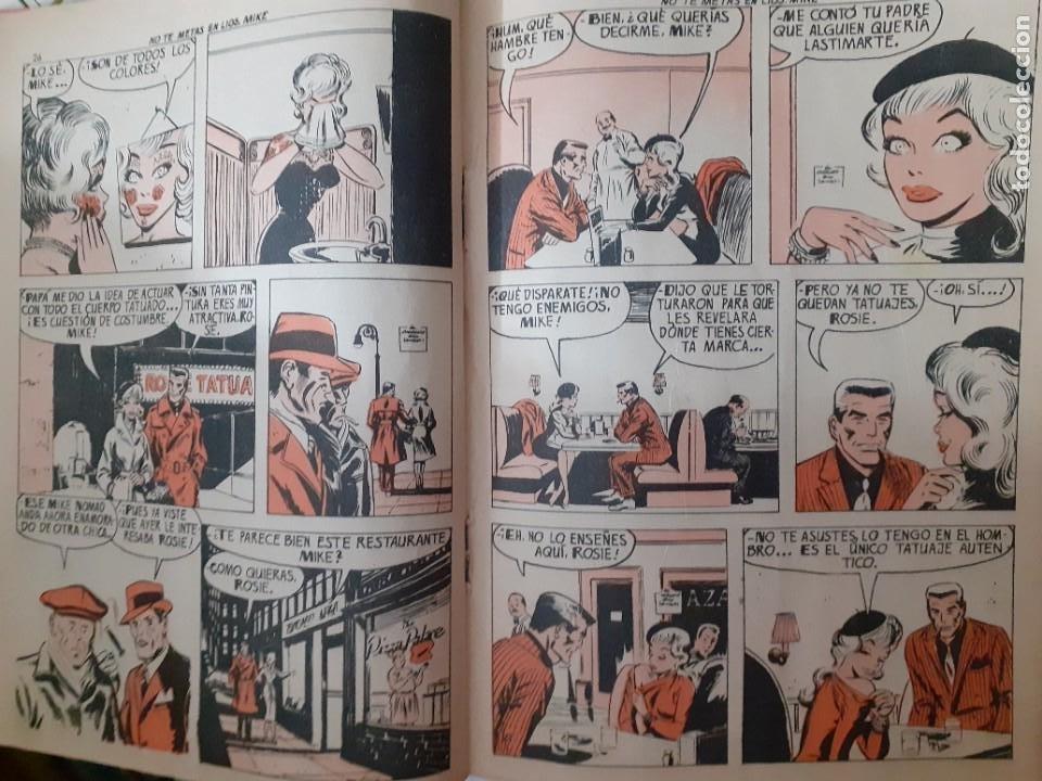 Tebeos: AGENTE 007 JAMES BOND- Nº 31 -NO TE METAS EN LÍOS, MIKE-1966-THOMAS OVERGARD-BUENO-DIFÍCIL-5089 - Foto 5 - 274338928
