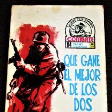 Tebeos: COMBATE NOVELA GRÁFICA Nº 40 QUE GANE EL MEJOR DE LOS DOS 1976 VER DESCRIPCIÓN Y FOTOS. Lote 274749733