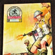 Tebeos: COMBATE NOVELA GRÁFICA Nº 42 EL AMBICIOSO PRODUCCIONES EDITORIALES 1976 VER DESCRIPCIÓN Y FOTOS. Lote 274751908