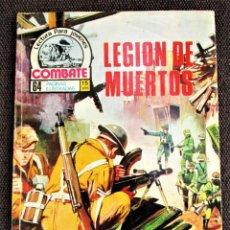 Tebeos: COMBATE NOVELA GRÁFICA Nº 43 LEGIÓN DE MUERTOS PRODUCCIONES EDITORIALES 1976 VER DESCRIPCIÓN Y FOTOS. Lote 274752508