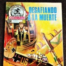 Tebeos: COMBATE NOVELA GRÁFICA Nº 44 DESAFIANDO A LA MUERTE 1976 VER DESCRIPCIÓN Y FOTOS. Lote 274752898