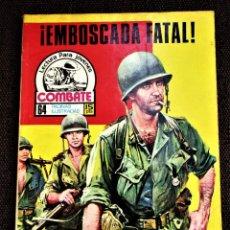 Tebeos: COMBATE NOVELA GRÁFICA Nº 45 ¡ EMBOSCADA FATAL ! 1976 VER DESCRIPCIÓN Y FOTOS. Lote 274753408
