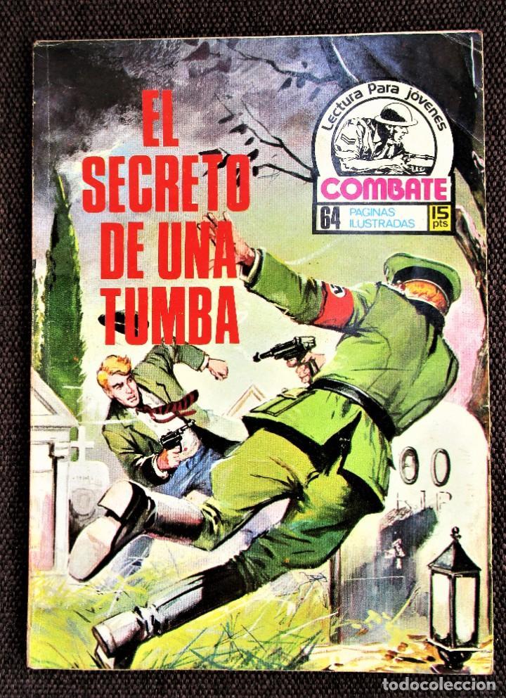 COMBATE NOVELA GRÁFICA Nº 46 EL SECRETO DE UNA TUMBA 1976 VER DESCRIPCIÓN Y FOTOS (Tebeos y Comics - Ferma - Combate)