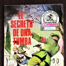 Tebeos: COMBATE NOVELA GRÁFICA Nº 46 EL SECRETO DE UNA TUMBA 1976 VER DESCRIPCIÓN Y FOTOS. Lote 274753843