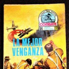 Tebeos: COMBATE NOVELA GRÁFICA Nº 49 LA MEJOR VENGANZA PRODUCCIONES EDITORIALES 1976 VER DESCRIPCIÓN Y FOTOS. Lote 274755848