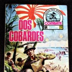 Tebeos: COMBATE NOVELA GRÁFICA Nº 50 DOS COBARDES PRODUCCIONES EDITORIALES 1977 VER DESCRIPCIÓN Y FOTOS. Lote 274756548