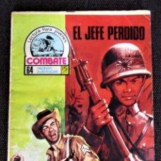 Tebeos: COMBATE NOVELA GRÁFICA Nº 62 EL JEFE PERDIDO PRODUCCIONES EDITORIALES1977 VER DESCRIPCIÓN Y FOTOS. Lote 274780598