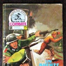 Tebeos: COMBATE NOVELA GRÁFICA Nº 63 UN PUENTE A LA MUERTE 1977 VER DESCRIPCIÓN Y FOTOS. Lote 274781633