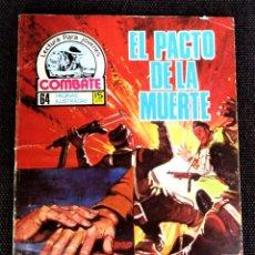 Tebeos: COMBATE NOVELA GRÁFICA Nº 64 EL PACTO DE LA MUERTE 1977 VER DESCRIPCIÓN Y FOTOS. Lote 274784823