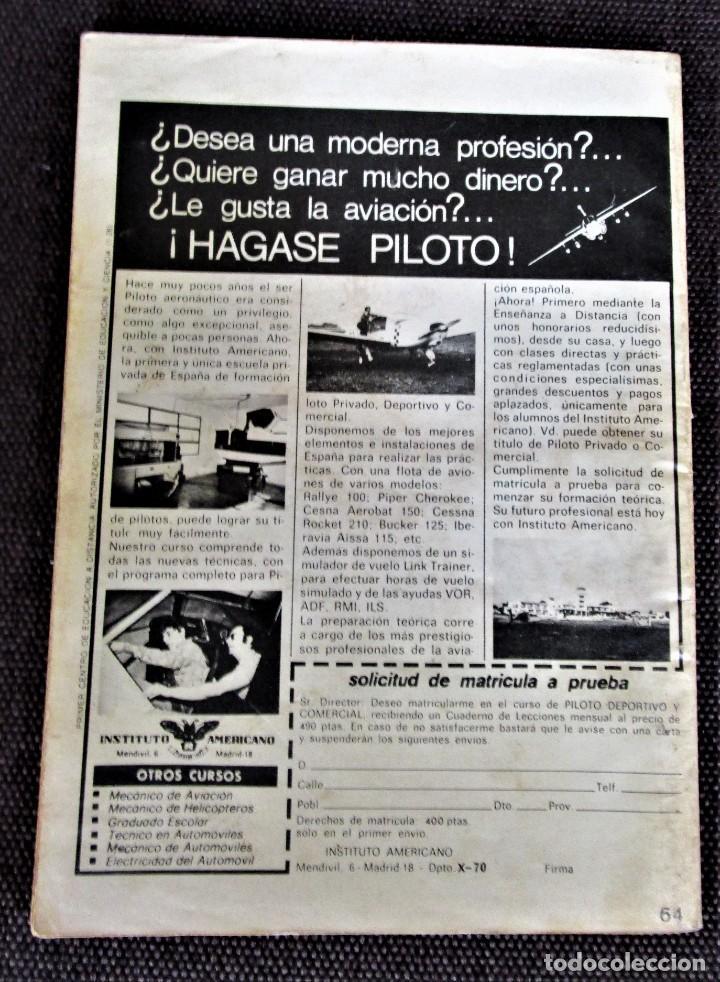 Tebeos: COMBATE Novela gráfica Nº 64 EL PACTO DE LA MUERTE 1977 Ver descripción y fotos - Foto 2 - 274784823