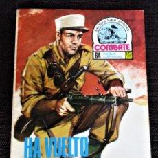 Tebeos: COMBATE NOVELA GRÁFICA Nº 67 HA VUELTO UN COBARDE 1977 VER DESCRIPCIÓN Y FOTOS. Lote 274786553