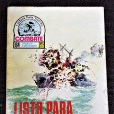 Tebeos: COMBATE NOVELA GRÁFICA Nº 69 LISTO PARA EL COMBATE 1977 VER DESCRIPCIÓN Y FOTOS. Lote 274787213
