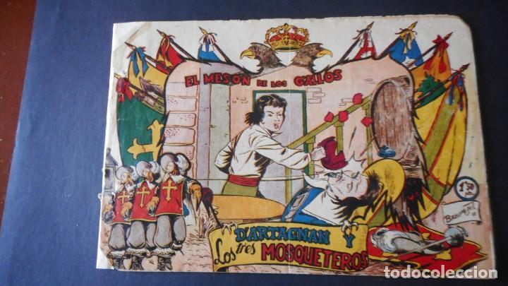 D'ARTAGNAN Y LOS 3 MOSQUETEROS Nº 2 (MUY RARO) (Tebeos y Comics - Ferma - Otros)