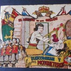 Tebeos: D'ARTAGNAN Y LOS 3 MOSQUETEROS Nº 2 (MUY RARO). Lote 275245823