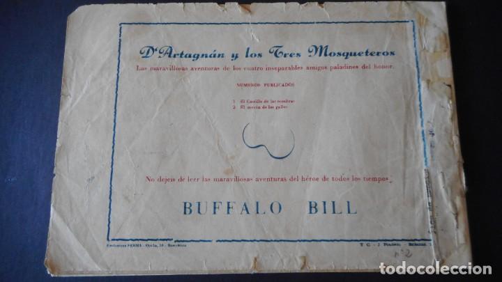 Tebeos: DARTAGNAN Y LOS 3 MOSQUETEROS Nº 2 (MUY RARO) - Foto 2 - 275245823