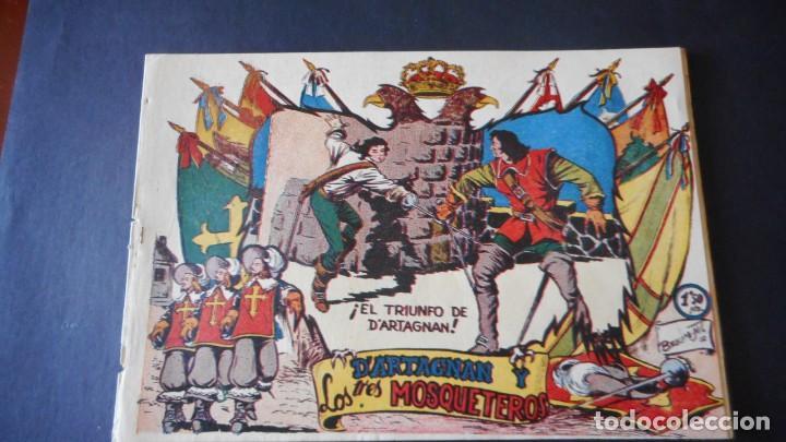 D'ARTAGNAN Y LOS 3 MOSQUETEROS Nº 3 (MUY RARO) (Tebeos y Comics - Ferma - Otros)