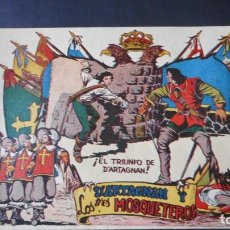 Tebeos: D'ARTAGNAN Y LOS 3 MOSQUETEROS Nº 3 (MUY RARO). Lote 275245963