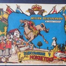 Livros de Banda Desenhada: DARTAGNAN Y LOS 3 MOSQUETEROS Nº 15 (MUY RARO). Lote 275246503
