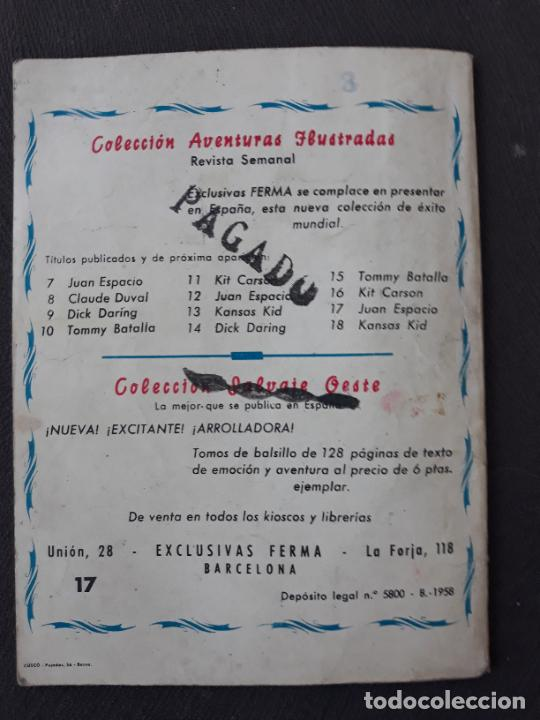 Tebeos: Aventuras Ilustradas Ferma Nº 17 Juan Espacio - Foto 2 - 275868968