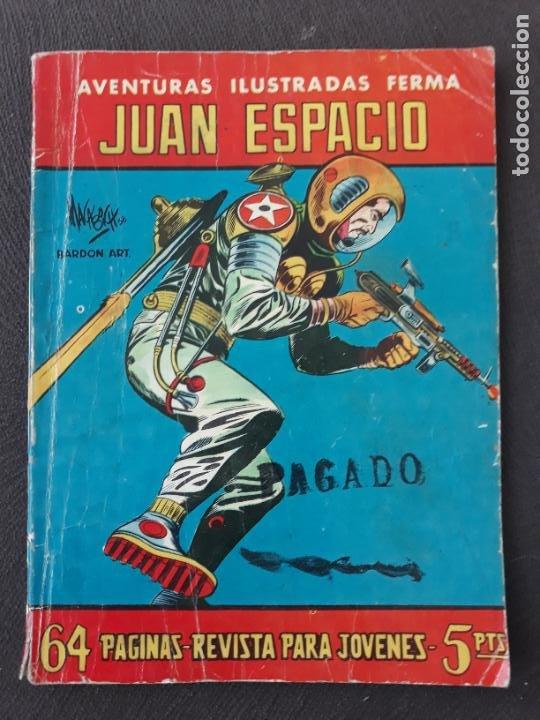 AVENTURAS ILUSTRADAS FERMA Nº 17 JUAN ESPACIO (Tebeos y Comics - Ferma - Aventuras Ilustradas)