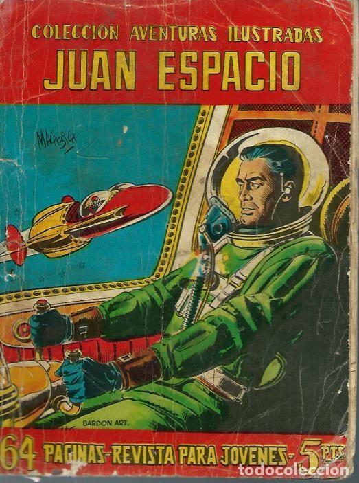 AVENTURAS ILUSTRADAS Nº 7 - JUAN ESPACIO Y EL MISTERIO DE LOS SABIOS DESAPARECIDOS - FERMA 1958 ORIG (Tebeos y Comics - Ferma - Aventuras Ilustradas)