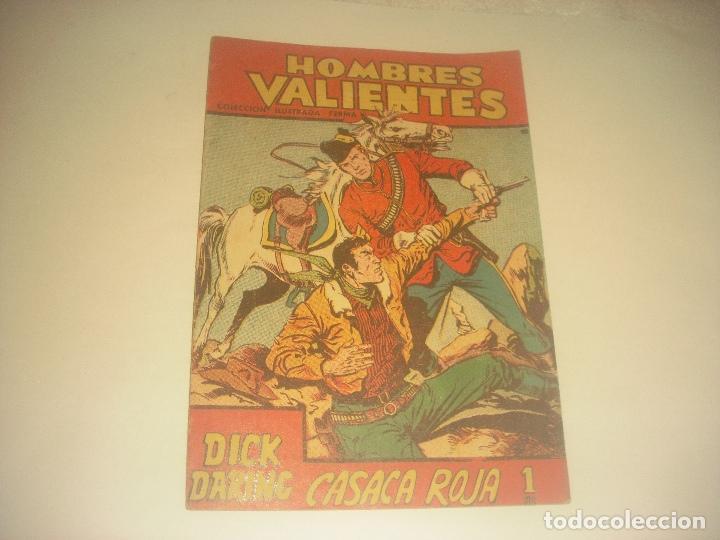 HOMBRES VALIENTES N. 13 DICK DARING , LA VENGANZA DEL LADRON. (Tebeos y Comics - Ferma - Otros)
