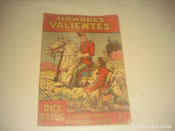 HOMBRES VALIENTES N. 14 DICK DARING , LA EMBOSCADA DEL RIO DEL AGUILA. (Tebeos y Comics - Ferma - Otros)