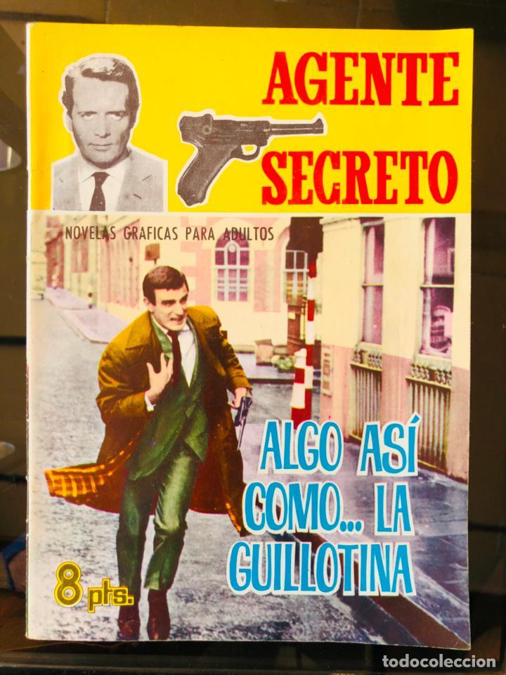 AGENTE SECRETO - ALGO ASI COMO... LA GUILLOTINA (Tebeos y Comics - Ferma - Agente Secreto)