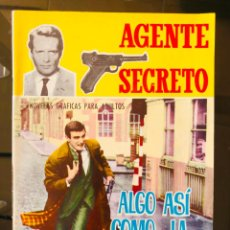 Tebeos: AGENTE SECRETO - ALGO ASI COMO... LA GUILLOTINA. Lote 276131718