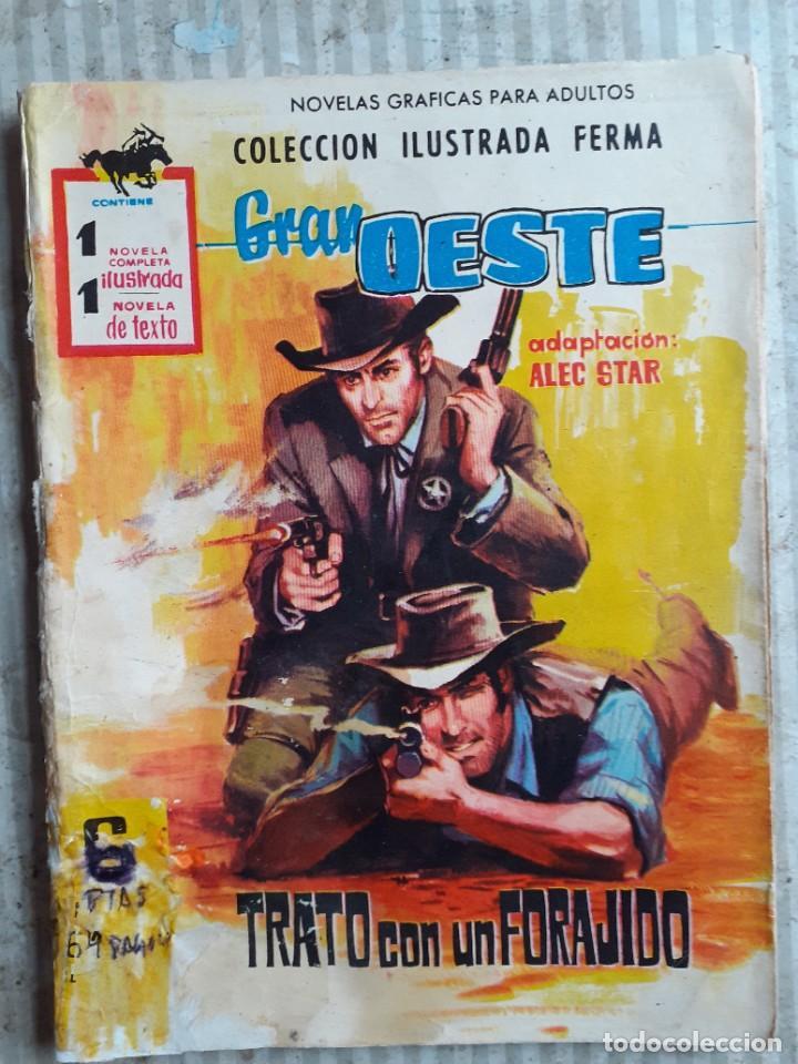 Tebeos: GRAN OESTE-FERMA- Nº 181 -TRATO CON UN FORAJIDO-1961-JORGE BADÍA-JOAN LLARCH-REGULAR-LEA-5271 - Foto 2 - 277030798