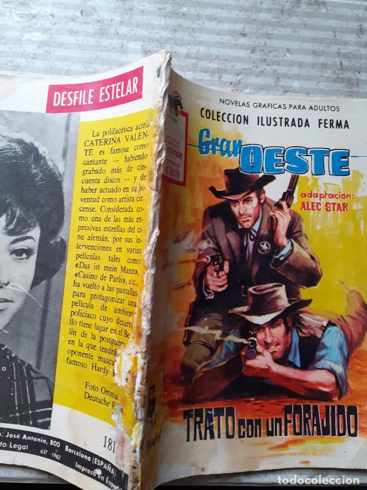 Tebeos: GRAN OESTE-FERMA- Nº 181 -TRATO CON UN FORAJIDO-1961-JORGE BADÍA-JOAN LLARCH-REGULAR-LEA-5271 - Foto 3 - 277030798