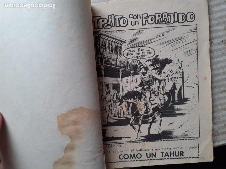 Tebeos: GRAN OESTE-FERMA- Nº 181 -TRATO CON UN FORAJIDO-1961-JORGE BADÍA-JOAN LLARCH-REGULAR-LEA-5271 - Foto 4 - 277030798