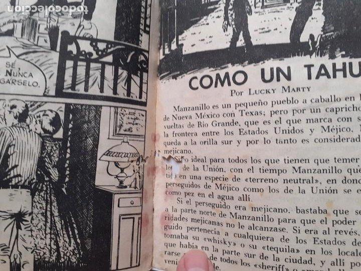 Tebeos: GRAN OESTE-FERMA- Nº 181 -TRATO CON UN FORAJIDO-1961-JORGE BADÍA-JOAN LLARCH-REGULAR-LEA-5271 - Foto 6 - 277030798