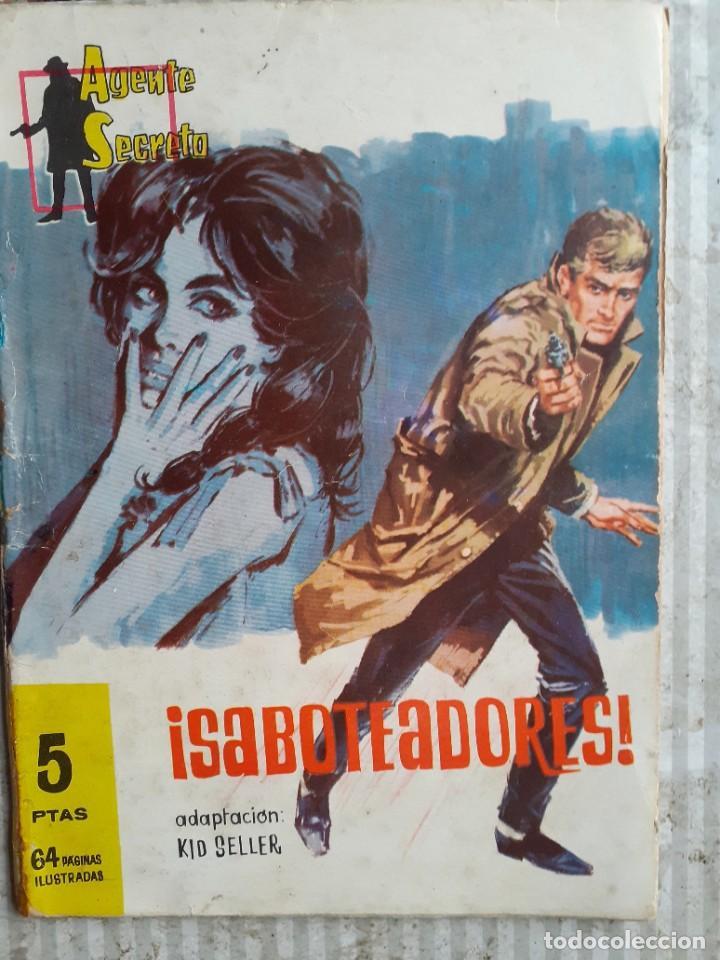 Tebeos: AGENTE SECRETO-FERMA- Nº 27 -¡SABOTEADORES!-1962-GRAN LUIS RAMOS-BUENO-ÚNICO EN TC-LEA-5272 - Foto 2 - 277033793