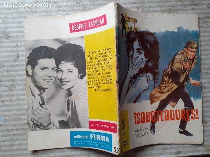 Tebeos: AGENTE SECRETO-FERMA- Nº 27 -¡SABOTEADORES!-1962-GRAN LUIS RAMOS-BUENO-ÚNICO EN TC-LEA-5272 - Foto 3 - 277033793