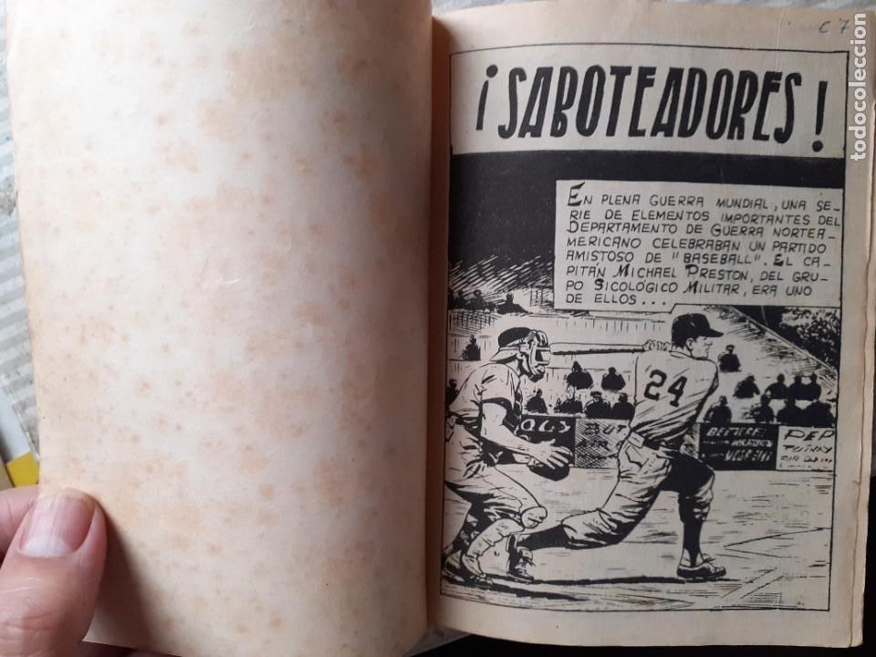 Tebeos: AGENTE SECRETO-FERMA- Nº 27 -¡SABOTEADORES!-1962-GRAN LUIS RAMOS-BUENO-ÚNICO EN TC-LEA-5272 - Foto 4 - 277033793