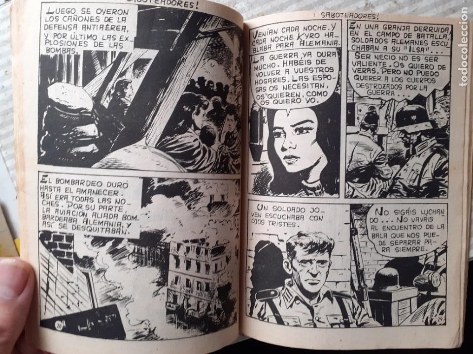 Tebeos: AGENTE SECRETO-FERMA- Nº 27 -¡SABOTEADORES!-1962-GRAN LUIS RAMOS-BUENO-ÚNICO EN TC-LEA-5272 - Foto 5 - 277033793