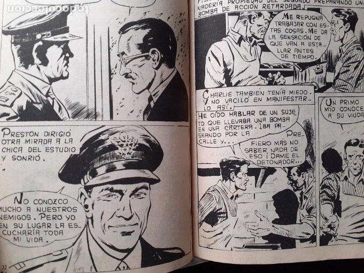 Tebeos: AGENTE SECRETO-FERMA- Nº 27 -¡SABOTEADORES!-1962-GRAN LUIS RAMOS-BUENO-ÚNICO EN TC-LEA-5272 - Foto 6 - 277033793