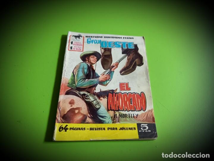 GRAN OESTE Nº 1. EL AHORCADO. B. MORTLEY. HISTORIETA DE JORDI MACABICH. FERMA, 1958. (Tebeos y Comics - Ferma - Gran Oeste)