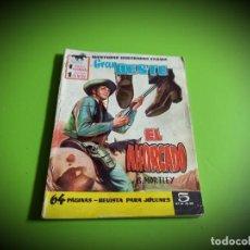 Tebeos: GRAN OESTE Nº 1. EL AHORCADO. B. MORTLEY. HISTORIETA DE JORDI MACABICH. FERMA, 1958.. Lote 277111238