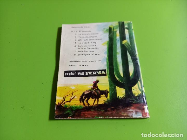 Tebeos: GRAN OESTE Nº 1. EL AHORCADO. B. MORTLEY. HISTORIETA DE JORDI MACABICH. FERMA, 1958. - Foto 3 - 277111238