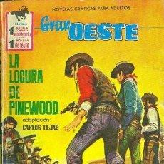 Tebeos: GRAN OESTE-FERMA- Nº 219 -LA LOCURA DE PINEWOOD-GRAN ÁNGEL SALMERÓN-1962-ÚNICO EN TC-BUENO-LEA-5302. Lote 278198978