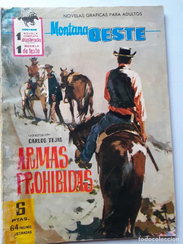GRAN OESTE-FERMA- Nº 231 -ARMAS PROHIBIDAS-1962-F.CUETO-J.BIELSA-ÚNICO EN TC-BUENO-LEA-5303 (Tebeos y Comics - Ferma - Gran Oeste)
