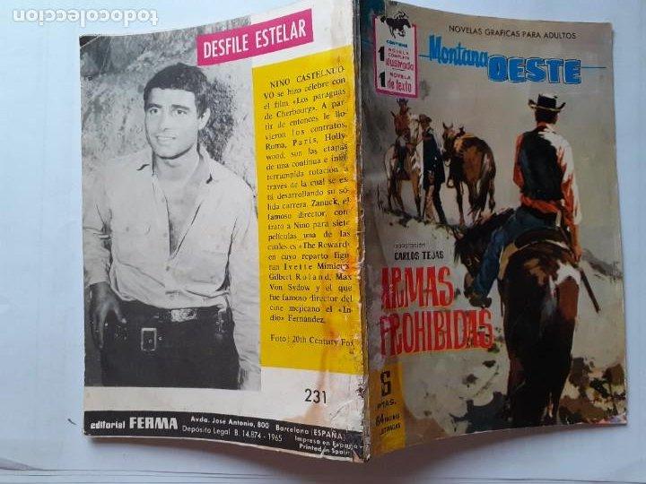 Tebeos: GRAN OESTE-FERMA- Nº 231 -ARMAS PROHIBIDAS-1962-F.CUETO-J.BIELSA-ÚNICO EN TC-BUENO-LEA-5303 - Foto 2 - 278204338