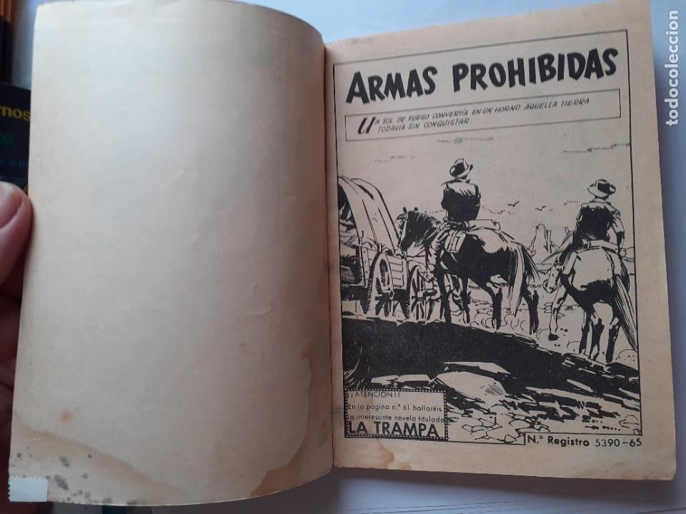 Tebeos: GRAN OESTE-FERMA- Nº 231 -ARMAS PROHIBIDAS-1962-F.CUETO-J.BIELSA-ÚNICO EN TC-BUENO-LEA-5303 - Foto 3 - 278204338