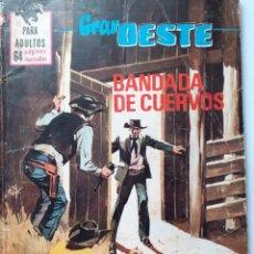 Tebeos: GRAN OESTE-FERMA- Nº 394 -BANDADA DE CUERVOS-1965-ERIC BRADBURY-MARVEL EN ESPAÑA-CORRECTO-LEA-5304. Lote 278278623