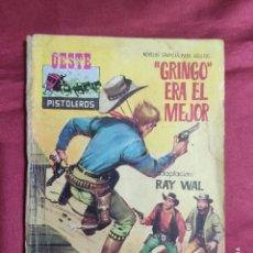 Tebeos: OESTE PISTOLEROS. Nº 111. GRINGO ERA EL MEJOR. EDITORIAL FERMA. Lote 278583908